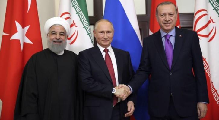 러시아-터키-이란, '시리아 공조' 강화...3자 정상회담 개최 추진