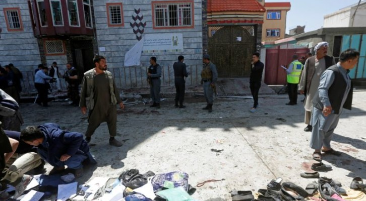 아프간 카불 자살폭탄 공격, 31명 사망
