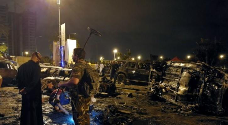 리비아 벵가지 차량 폭탄 테러...적어도 7명 사망