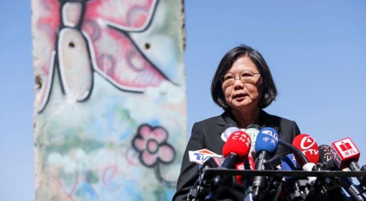 타이완 총통, 미국 본토에서 15년 만에 첫 대중연설