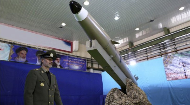 이란, 신형 단거리 탄도미사일 공개