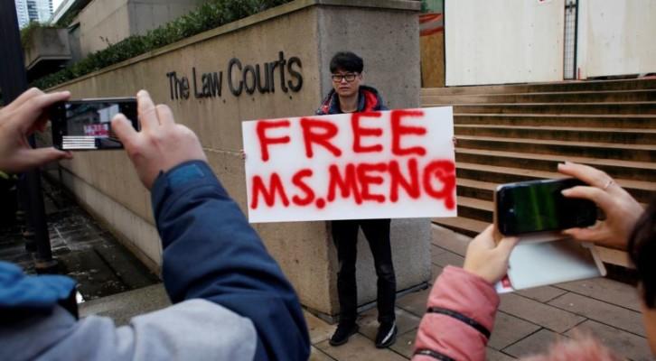 화웨이 CFO 조건부 석방...메이 영국총리 신임투표