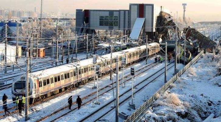터키 앙카라서 고속열차 탈선...9명 사망·40여명 부상