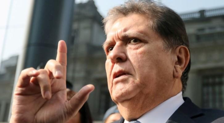 뇌물 의혹 가르시아 전 페루 대통령 자살