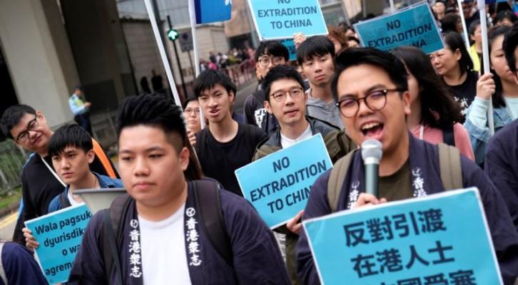 홍콩, 범죄인 인도법 반대 대규모 시위