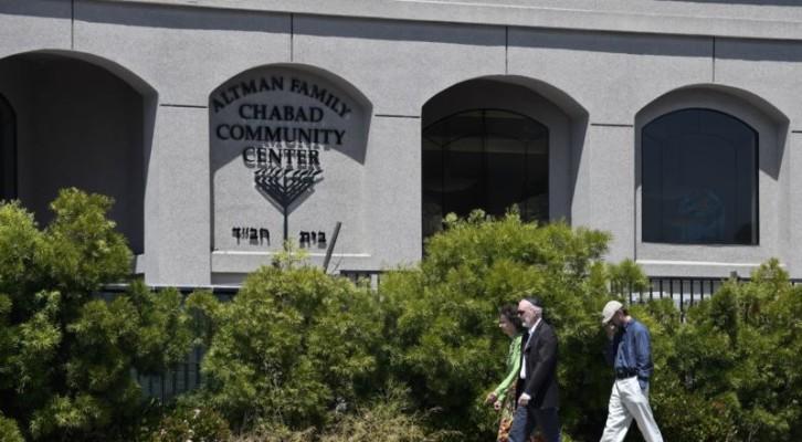 캘리포니아 유대교 회당에서 총격 발생, 반유대 ·증오 범죄 가능성